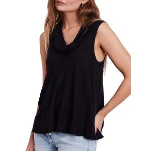Free People Swing It Cowl Neck Thermal Tank